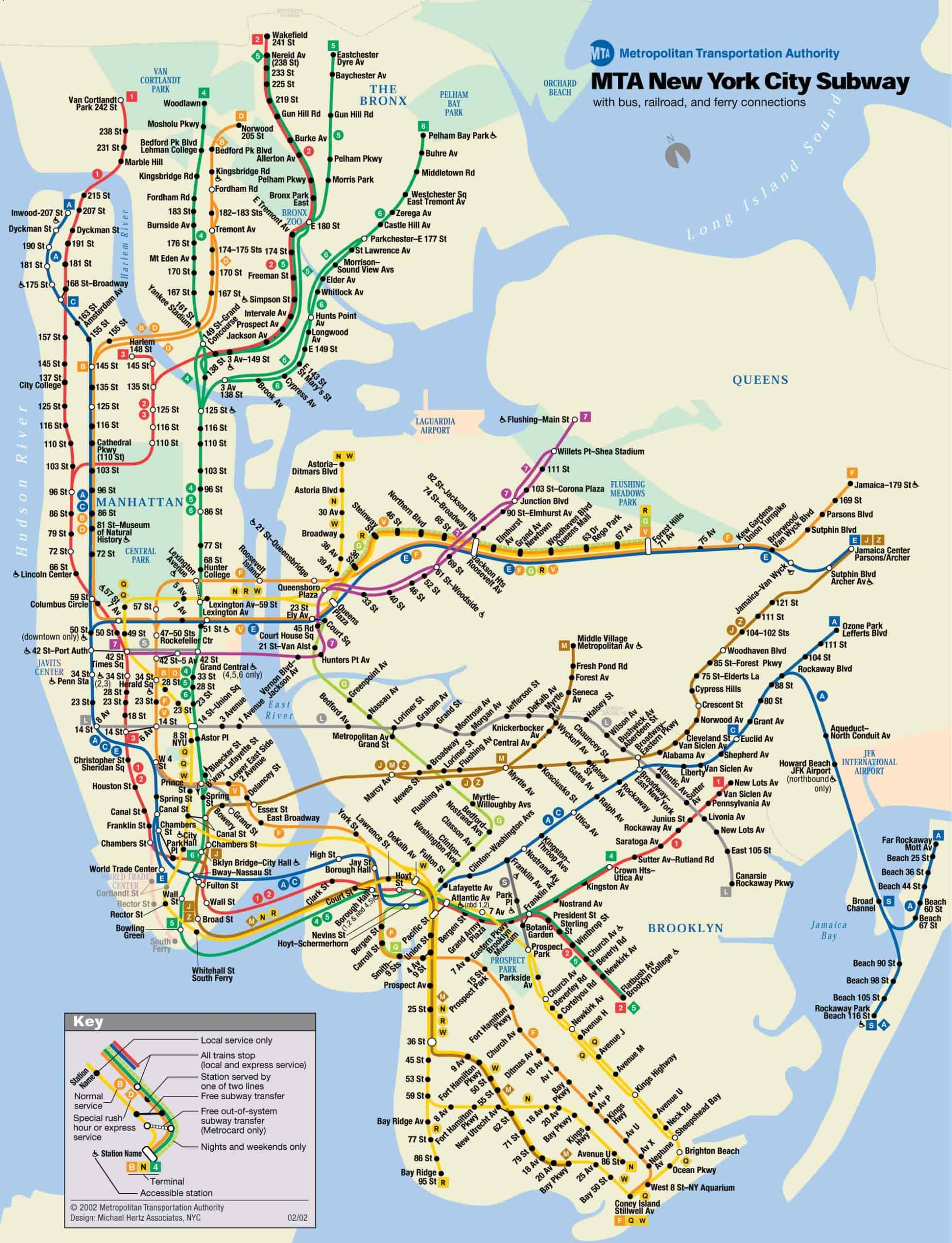 Nyc Subway Station Maps.Michael Hertz Designer Of Nyc S Iconic Subway Map Dies At 87