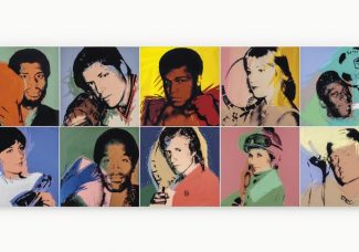 Warhol's 'Athletes' series heads to auction alongside other works from the Richard L. Weisman collection