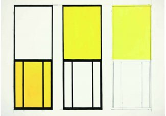 """Ellsworth Kelly's """"Windows"""" at Pompidou and Cahiers d'Art"""