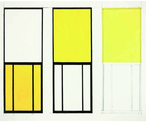 "Ellsworth Kelly's ""Windows"" at Pompidou and Cahiers d'Art"