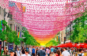 18 Shades of Gay going grey- iconic Montreal installation ending