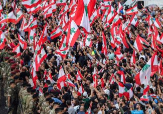 Beirut's art scene on pause in solidarity with the millions protesting