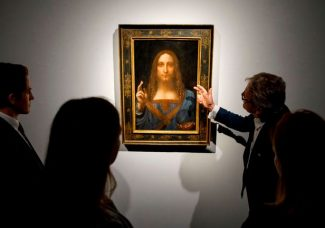Salvator Mundi almost made it to the Louvre exhibition, and may still be included