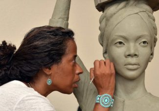 Statue by Vinnie Bagwell to replace controversial monument in Central Park