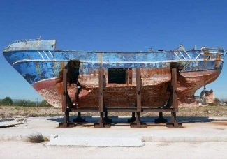 Shipwreck that killed hundreds shown at the Venice Biennale