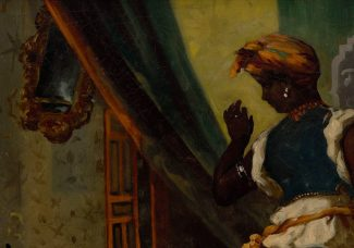 Long lost painting by Eugène Delacroix to go on display today at the Museum of Fine Arts, Houston