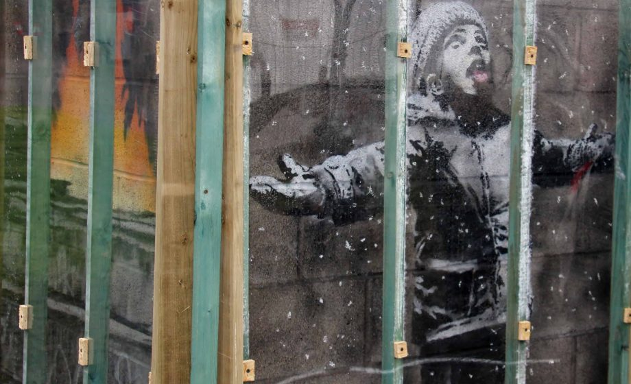 Essex gallery owner buys Banksy mural that popped up in Port Talbot in December