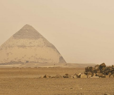 Egypt welcomes visitors inside the 'bent' pyramid