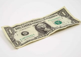 A collaborative performance work will see $500 in sanitised dollar bills handed out on silver platter in East Hampton