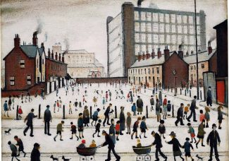 Unseen for 70 years, LS Lowry painting heads to auction