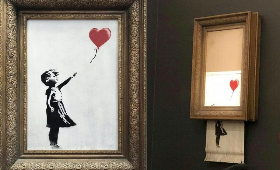 le nouveau coup de g nie de banksy. Black Bedroom Furniture Sets. Home Design Ideas