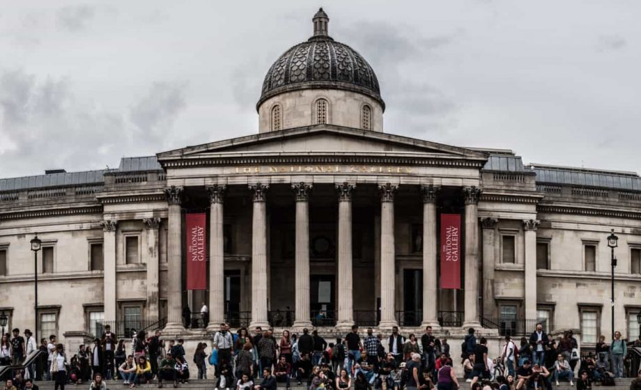 Letting up on lockdown: The National Gallery will reopen next week, leading the way for UK museums