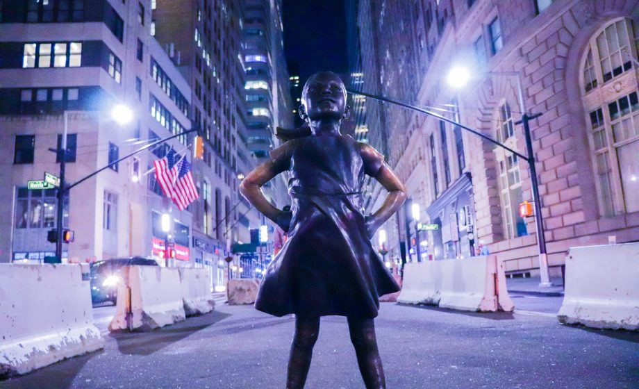 "The company behind ""Fearless Girl"" is suing its creator"