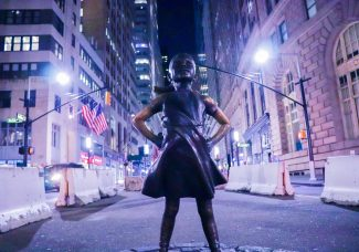 """The company behind """"Fearless Girl"""" is suing its creator"""