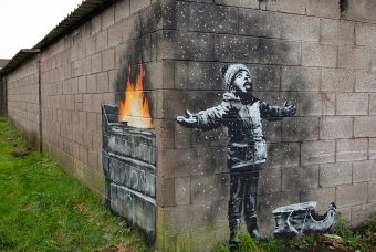 Owner of Banksy's 'Season's Greeting' ditches museum plans