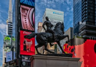 'Rumors of War', by Kehinde Wiley, inspired by US Civil War monuments