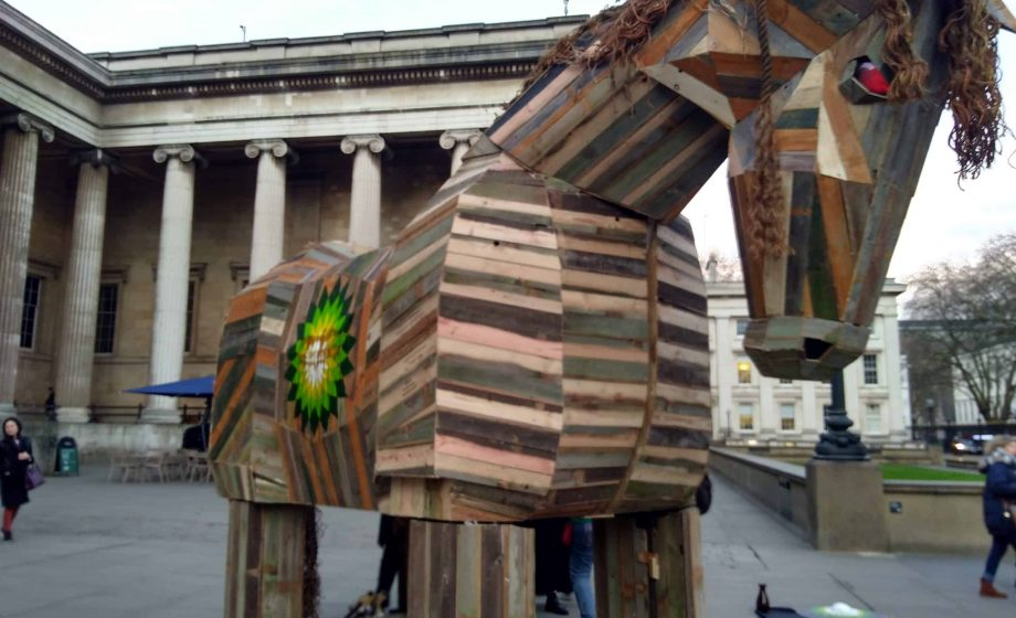 British Museum staff back weekend protesters who used a Trojan Horse to call for BP ties to be cut
