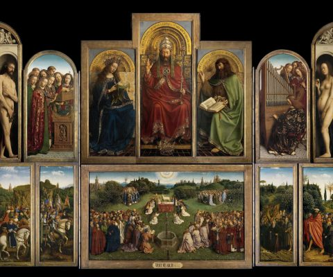 Restoration of Ghent Altarpiece reveals original painting