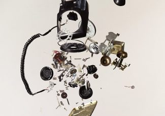 Deconstructed devices become art through the lens of one man's camera