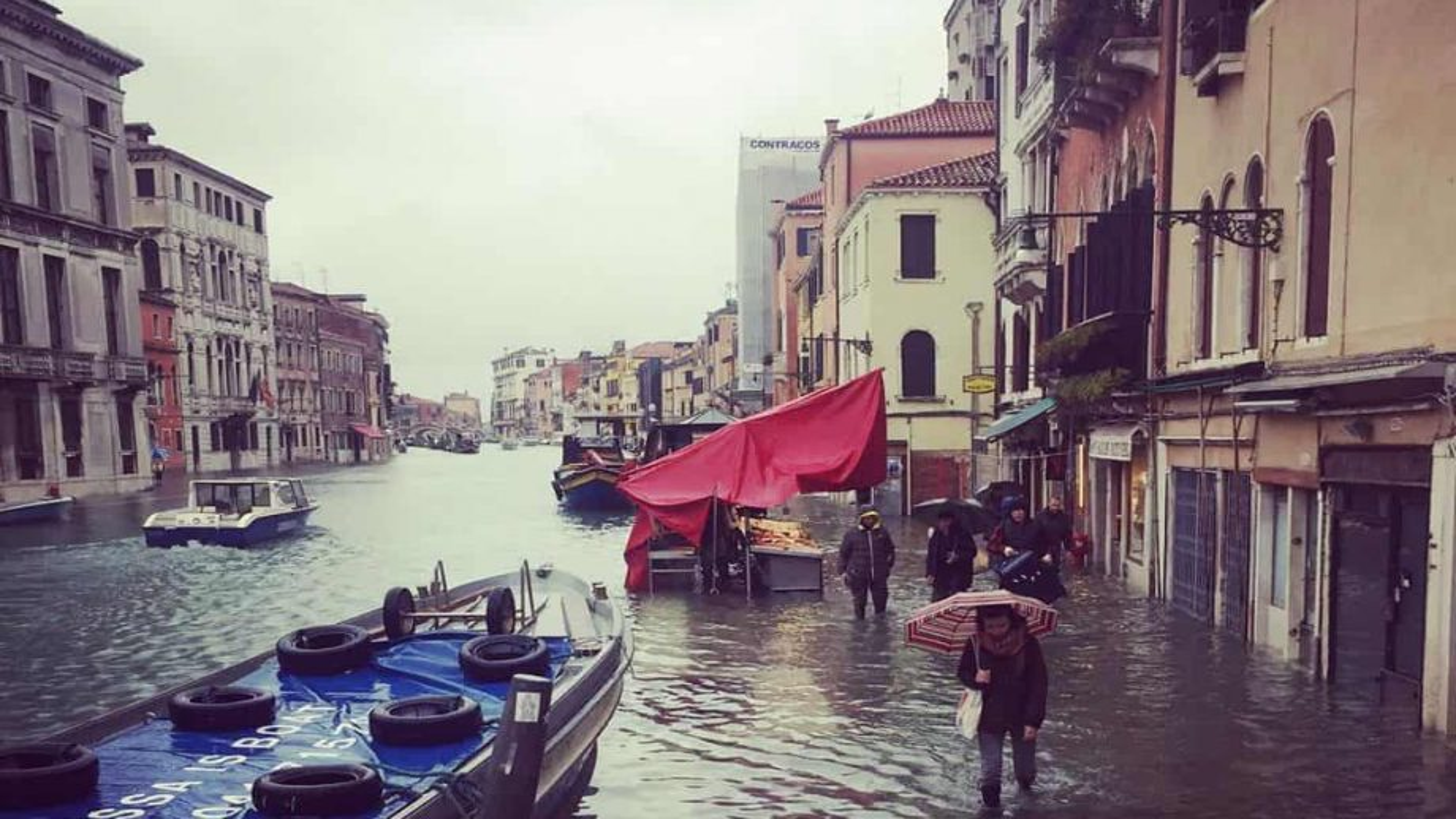 Venise à la charnière du désastre
