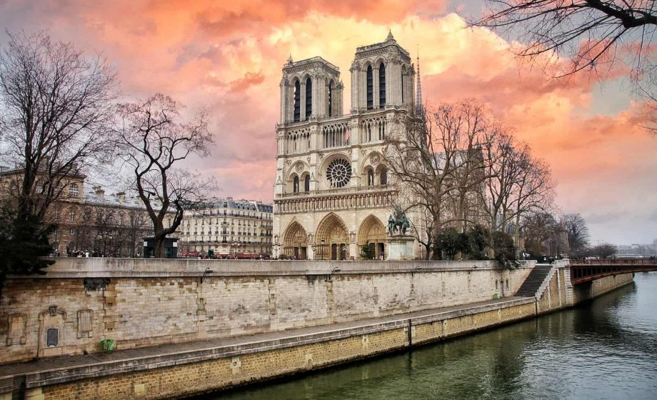Notre Dame forecourt could reopen next month