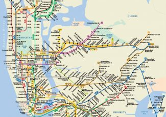 Michael Hertz, designer of NYC's iconic subway map, dies at 87