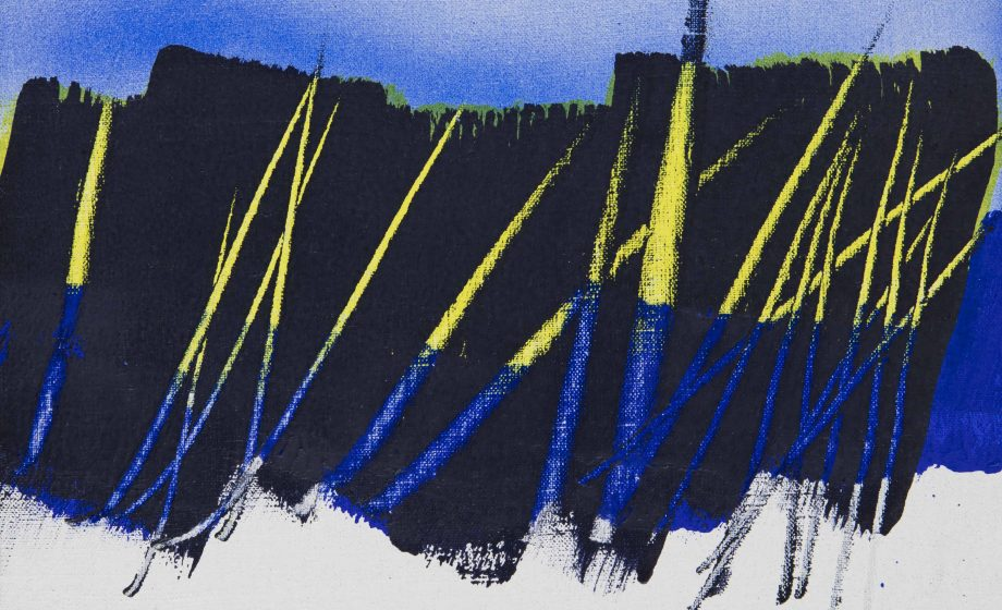 Hans Hartung, l'épure du trait