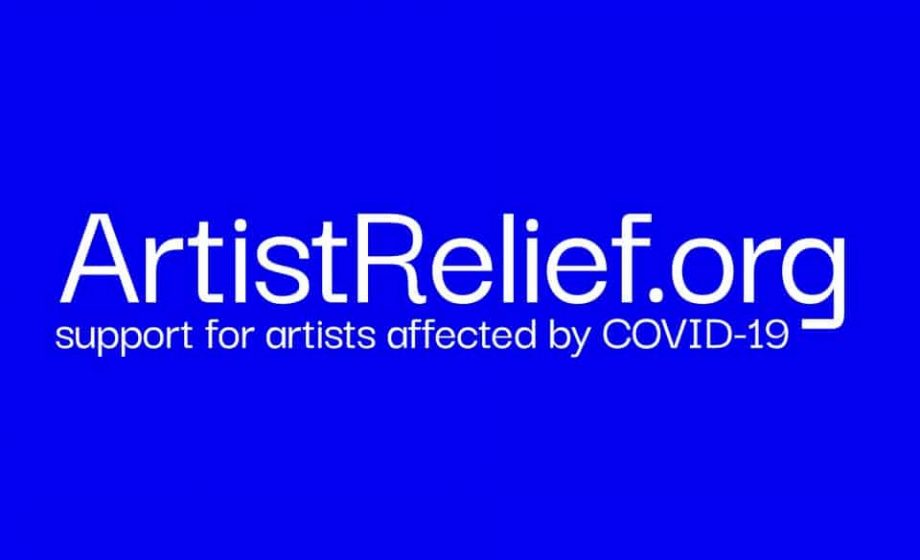 Artist Relief offers $10 million in grants to US artists during the time of COVID-19