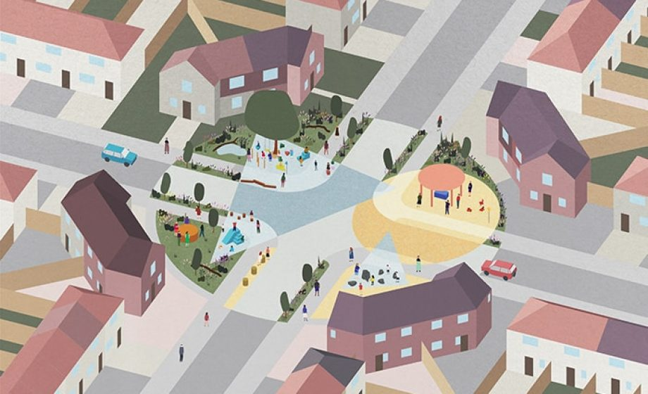Nimtrim Architects selected to revamp green space in Becontree Estate in East London