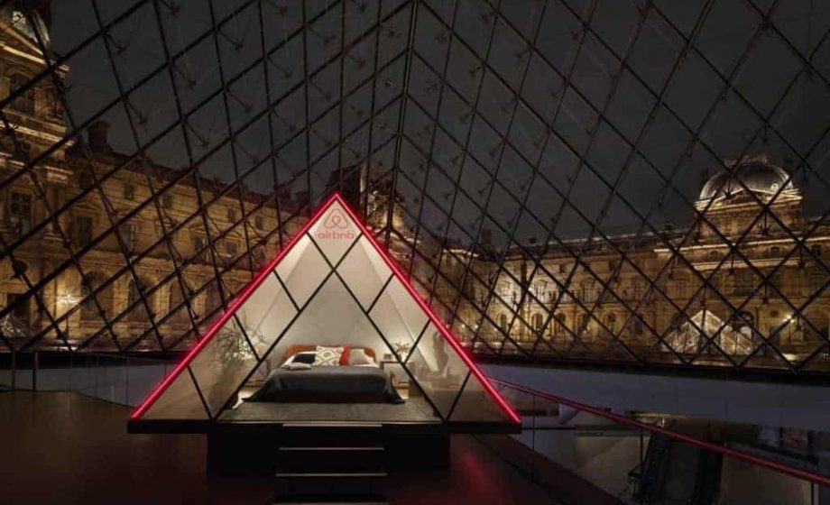 Check out the Louvre on Airbnb