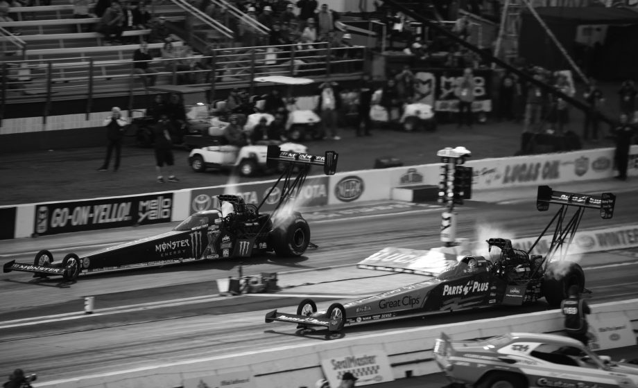 Drag racing, a journey into intensity