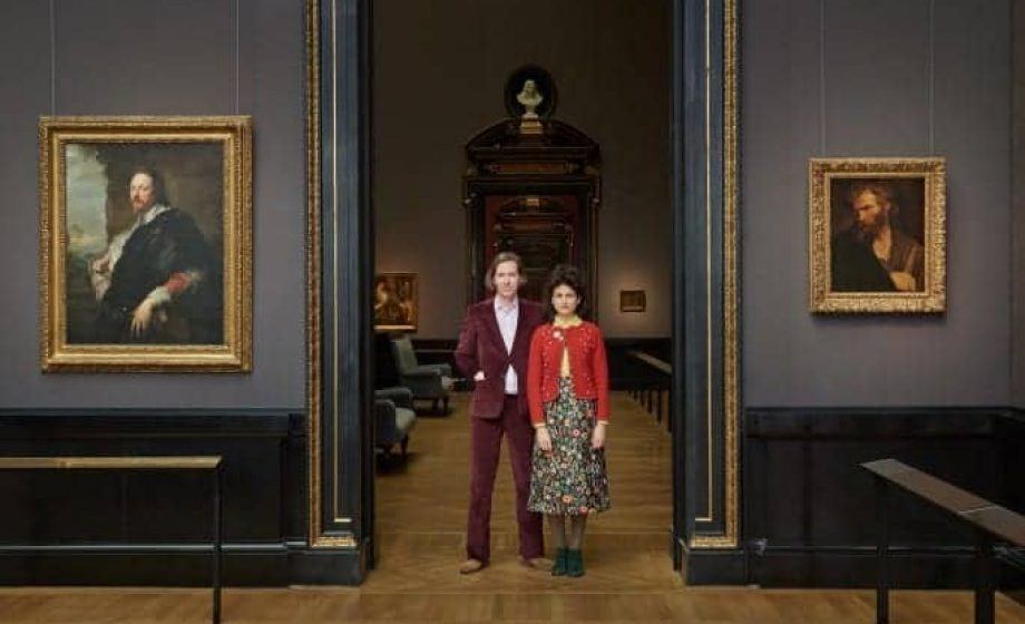 Wes Anderson and Juman Malouf's debut exhibition at the invitation of Vienna's Kunsthistorisches Museum