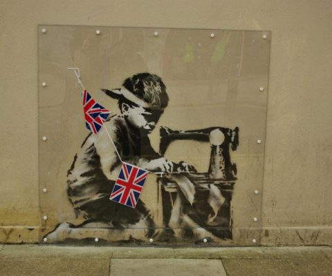 'Popagandist' Ron English intends to whitewash Banksy's $730,000 piece Slave Labour
