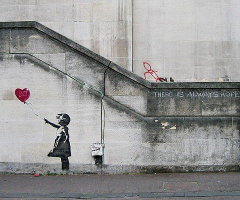 Five controversial actions by Banksy