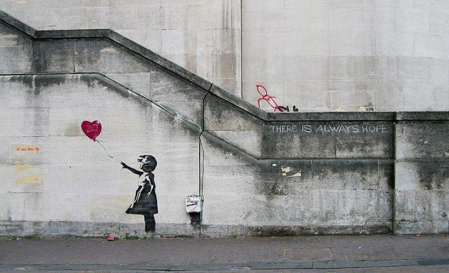 Banksy finally goes to court to stop unauthorised merchandising, despite saying copyright is for losers