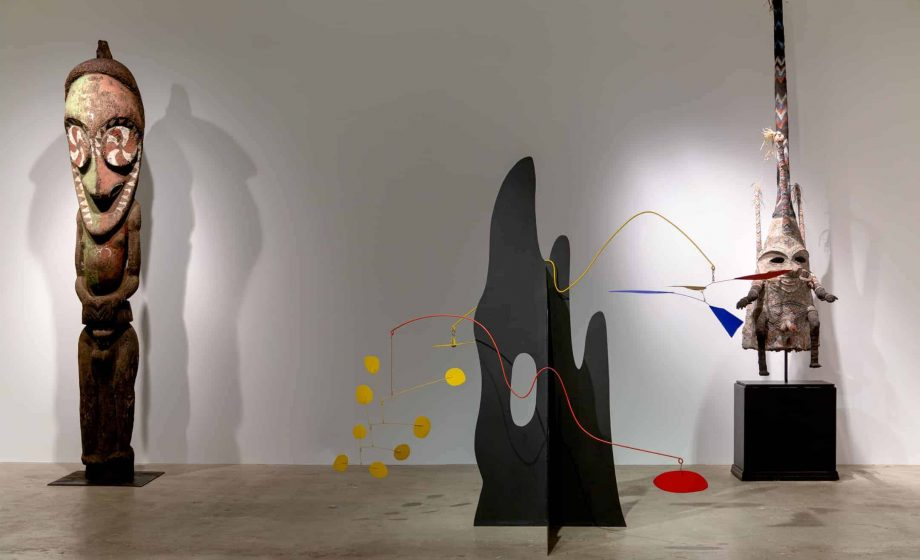 Manhattan gallery brings Calder Crags and Vanuatu Totems together again