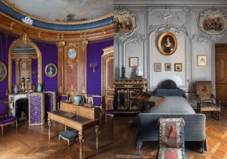 La restauration des appartements privés du Domaine de Chantilly