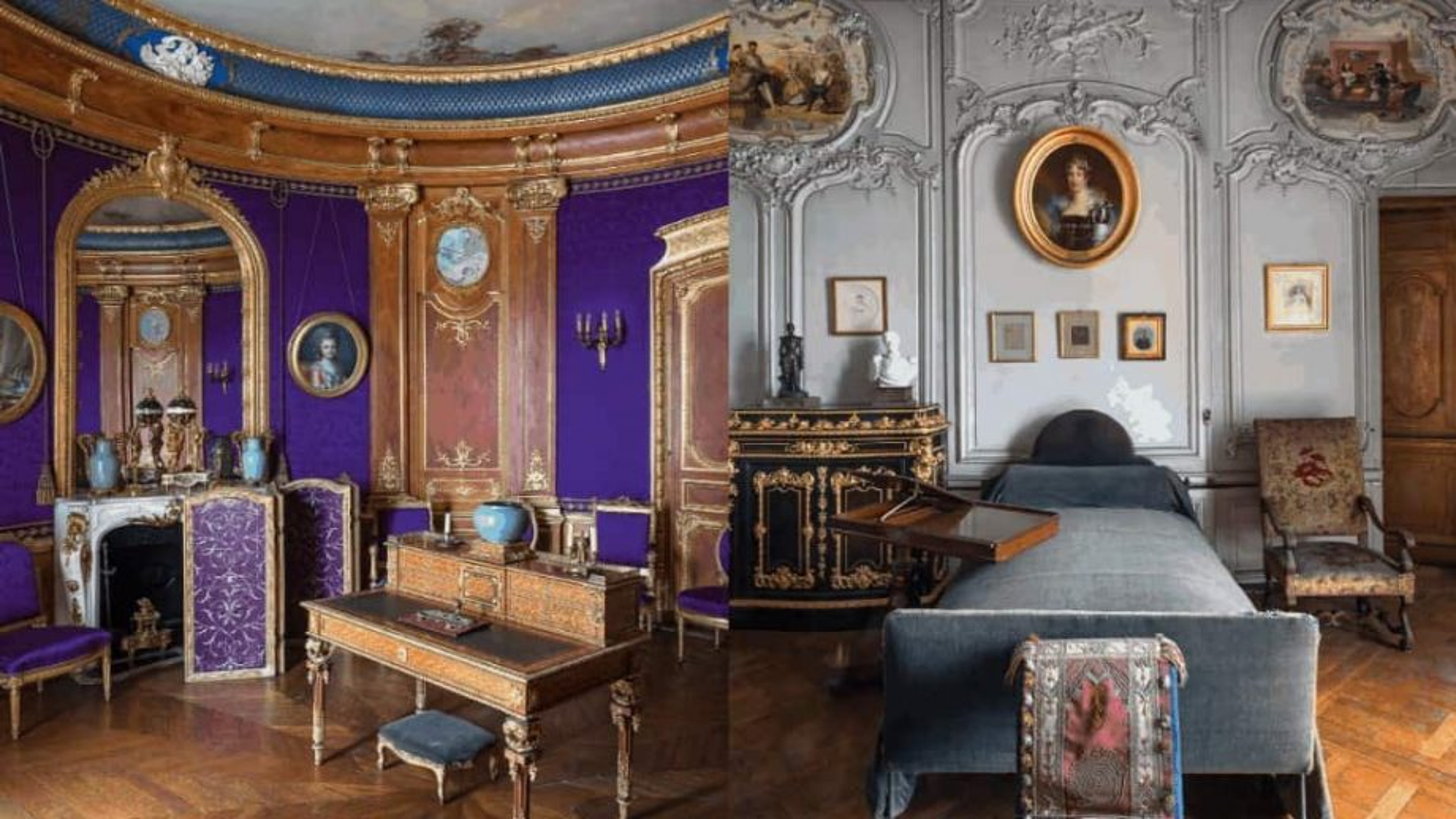 La restauration des appartements privés du Domaine de Chantilly