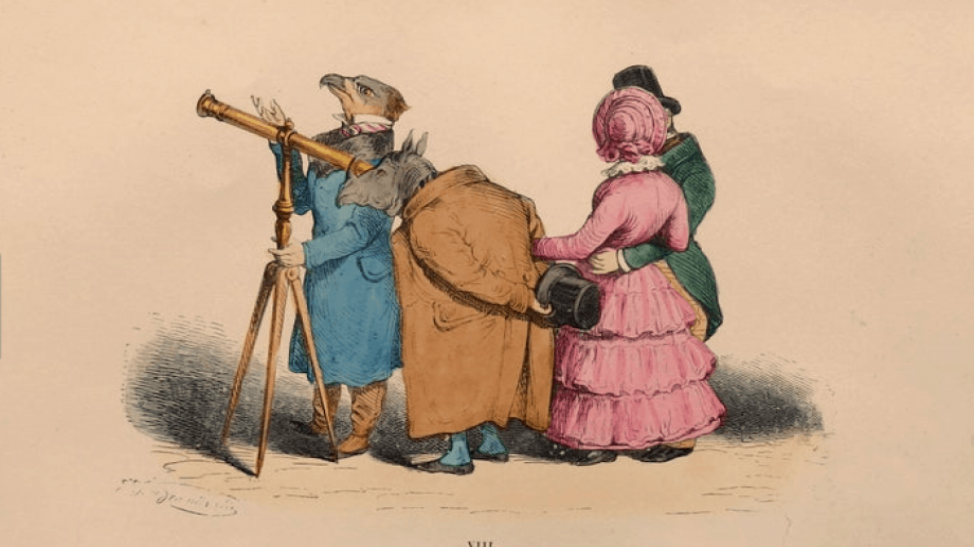 Redécouvrez Grandville à la Maison de Balzac