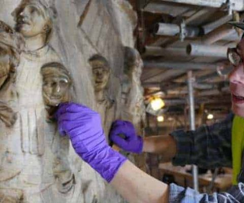 The V&A's Cast Courts' face lift will soon be finished