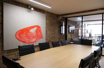Making the workplace an art place: London exhibition by Curaty enters its final weeks