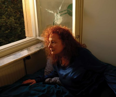 Nan Goldin was arrested protesting outside Governor Cuomo's office