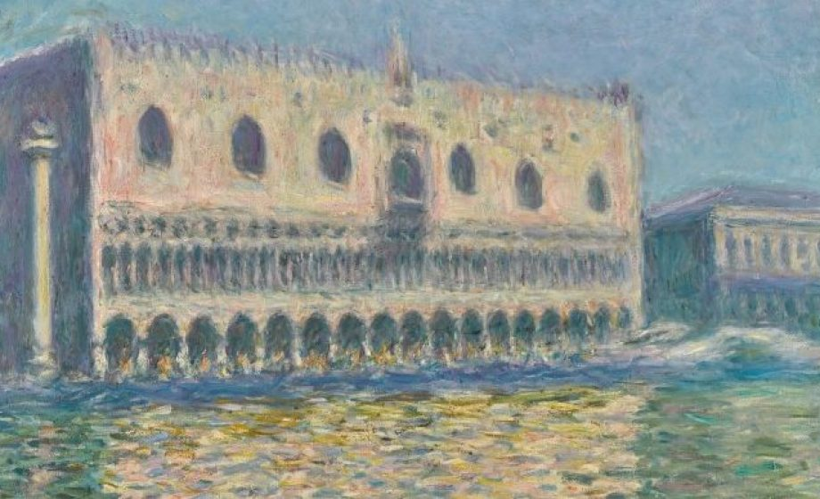 Rarely seen view of Venice by Monet expected to sale for £30 million