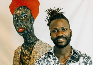 The Guggenheim Museum acquired a portrait painting by Amoako Boafo