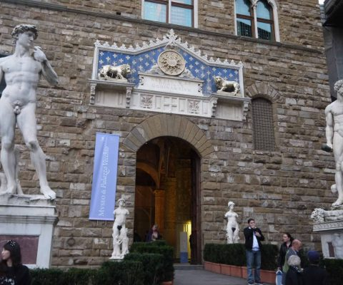 """Curator's discover sheds new light on """"Michelangelo's Graffiti"""" at the Palazzo Vecchio"""