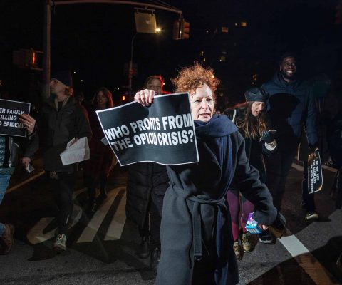 Nan Goldin denounces the Sackler settlement giving plaintiffs $10 billion