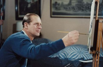 The Late Prince Philip was a devoted patron of the arts and a hobbyist painter — here are some of his most notable pursuits