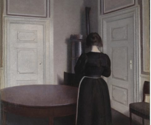 """Hammershøi, the """"painter of tranquil rooms,"""" at the Musée Jacquemart-André"""