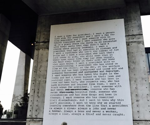 Zoe Leonard's 'I Want a President' revived to benefit HIV/AIDS activism group