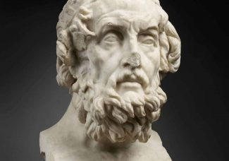 Homer at the Louvre-Lens